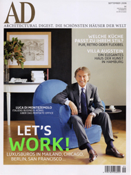 6. Architectural Digest, Germany, September 2006