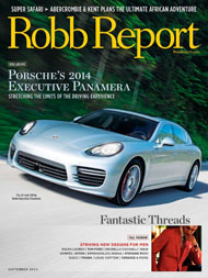 Robb Report 2013 cover